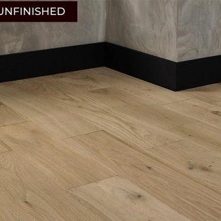 Solid Rustic Oak Flooring 18mm x 150mm Natural Unfinished