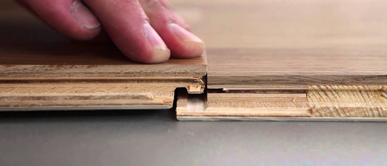 clic-fit engineered wood flooring